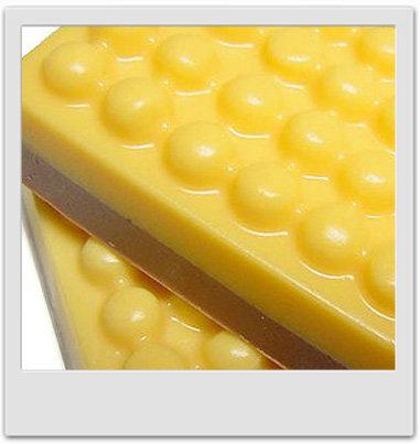 Savon chocolaté à la mandarine et à l'argousier - recettes de cosmétiques maison avec MaCosmetoPerso