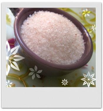 Sels de bain zen reminéralisants au lotus rose : recette de cosmétique maison avec MaCosmetoPerso