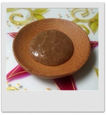 Gelée gommante douce purifiante aux micro-billes exfoliantes et à la noisette : recette de cosmétique maison avec MaCosmetoPerso