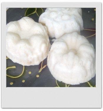 Pains de lait moussant pour le bain : recette de cosmétique maison avec MaCosmetoPerso