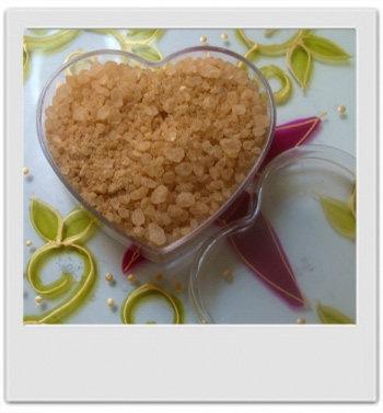 Sels de bain réglisse menthe : recette de cosmétique maison avec MaCosmetoPerso