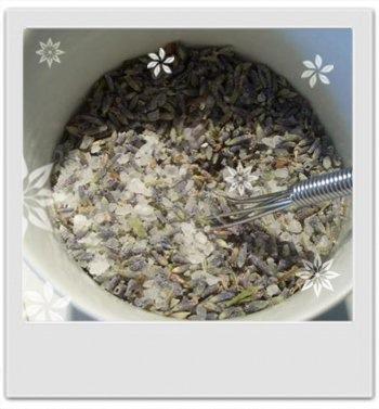 Sachets de bain détente du soir lavande, camomille et petit grain : recette de cosmetique maison avec MaCosmetoPerso